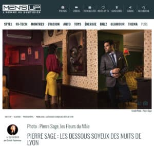 Pierre Sage Lyon Night Call magazine Mensup article editorial