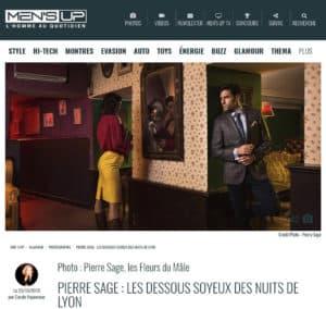 Pierre Sage Lyon Night Call magazine Mensup article editorial